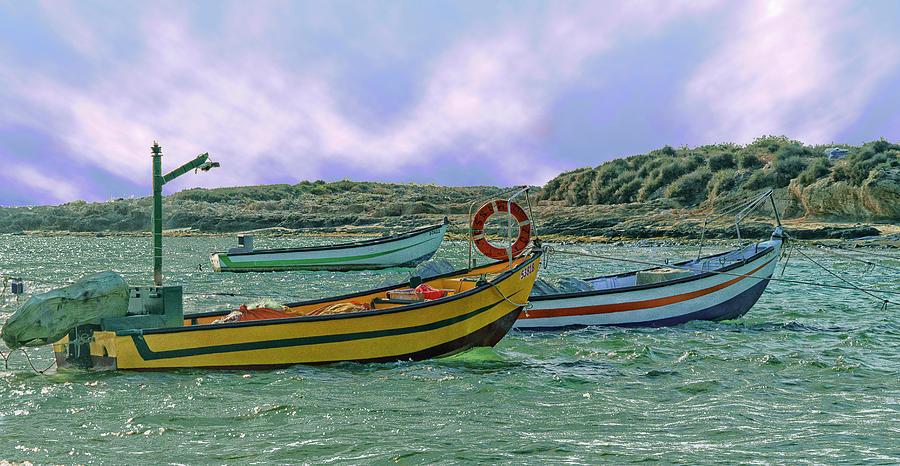 Fishermen's Wharf by Uri Baruch