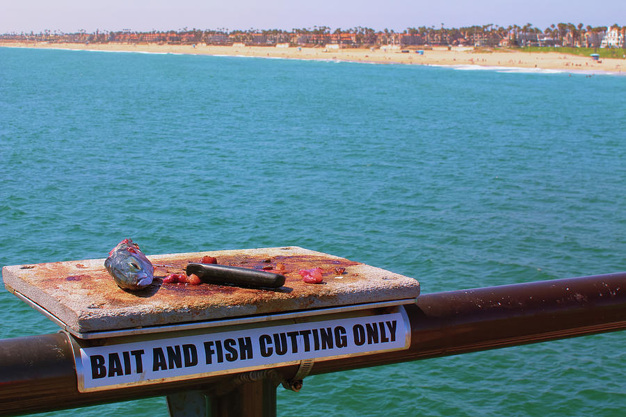 Fisherman's Workbench - Huntington Beach California by Ram Vasudev