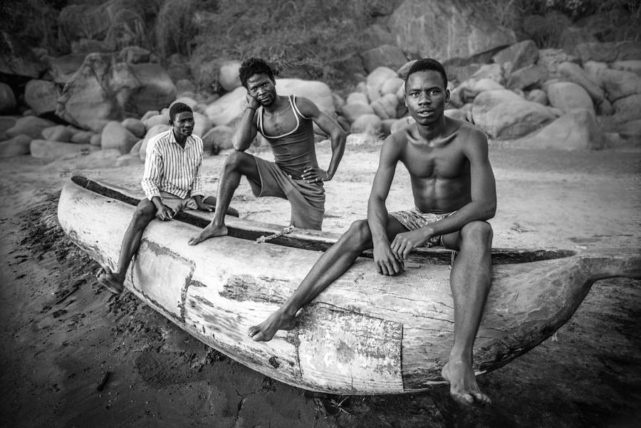 Fishermen Photograph - Fishermen by Carlos German Romero