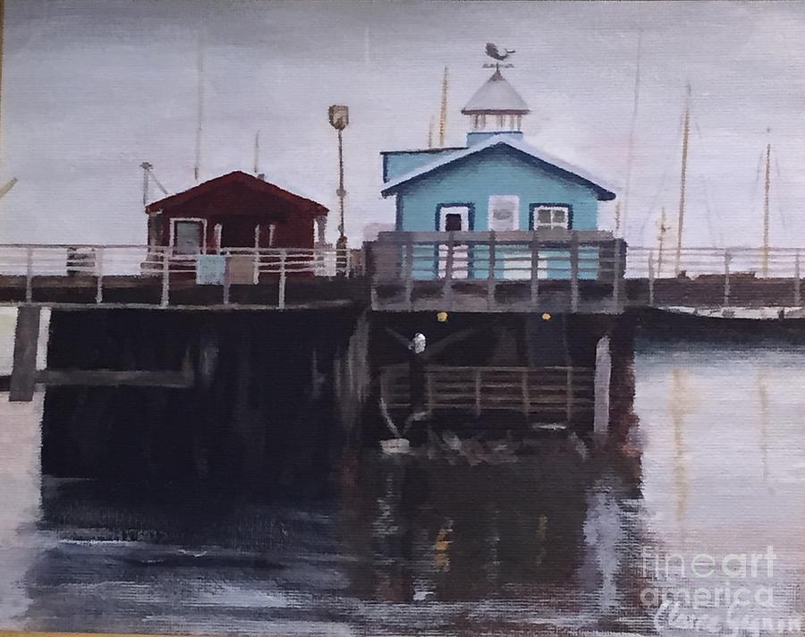 Fishermen Respite by Claire Gagnon