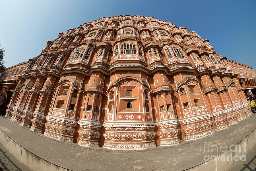 Fisheye View of Hawa Mahal by Yew Kwang