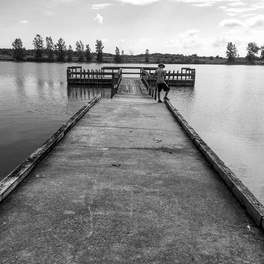 Fishin Photograph by Mike Wielgopolski