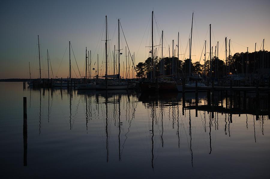 Chesapeake Bay Photograph - Fishing Bay Marina by Jon Beard