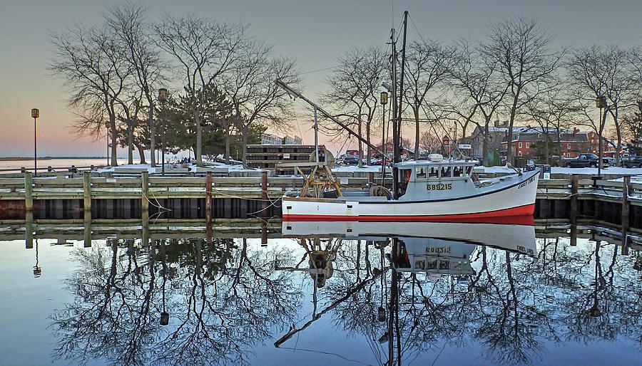 Fishing Boat at Newburyport by Wayne Marshall Chase