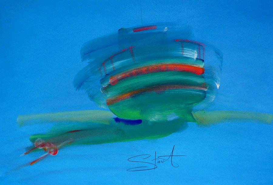 Fishing Boat Painting - Fishing Boat Hastings by Charles Stuart