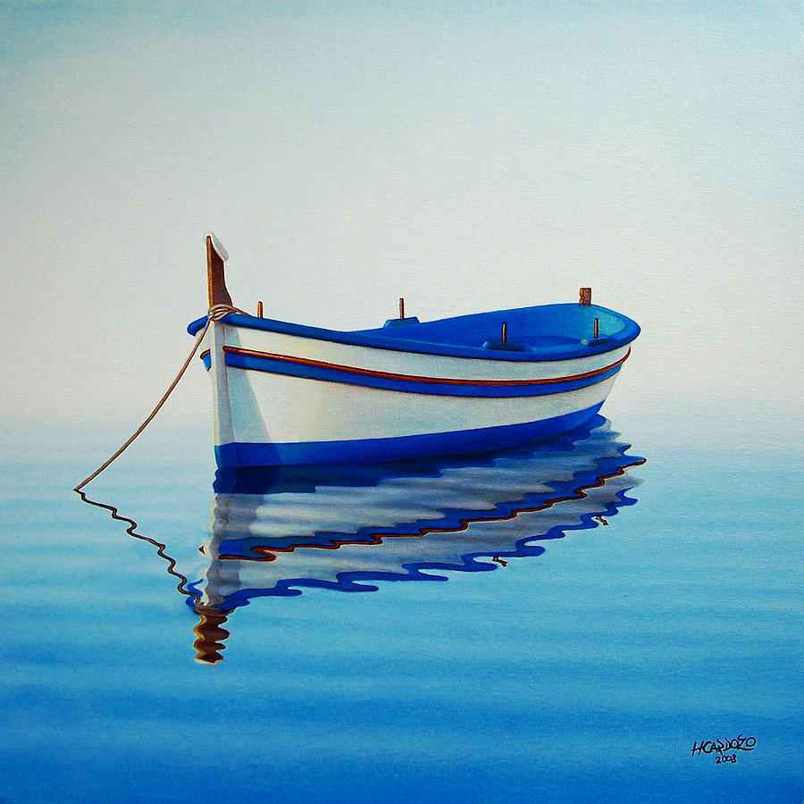 Fishing Painting - Fishing Boat II by Horacio Cardozo