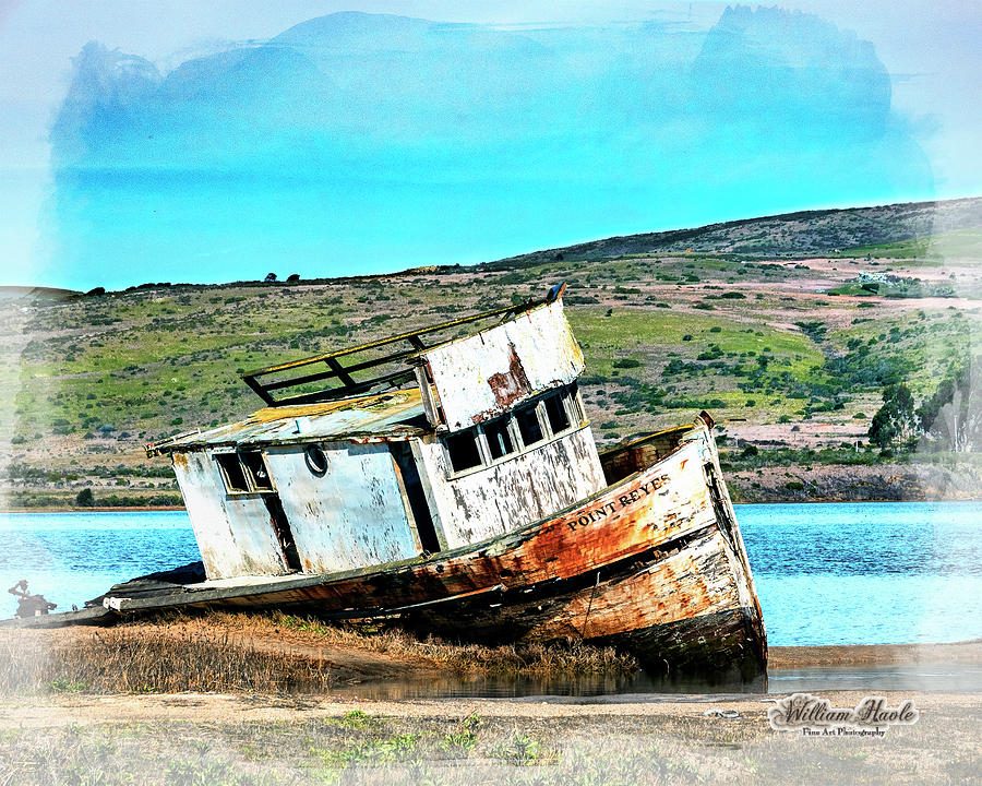 Fishing Boat Point Reyes by William Havle