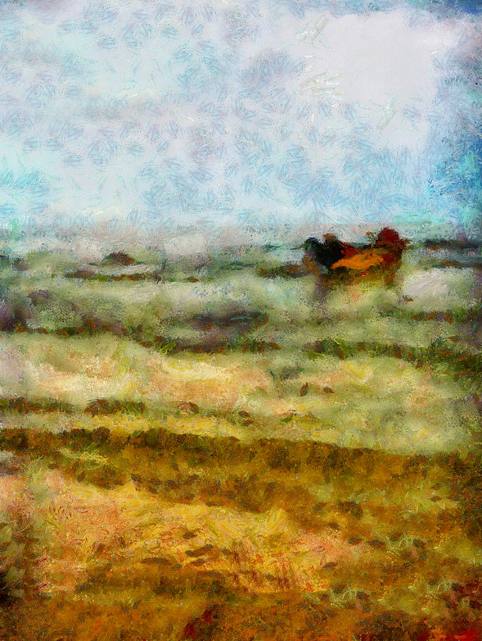 Abstract Photograph - Fishing Boat by Galeria Trompiz