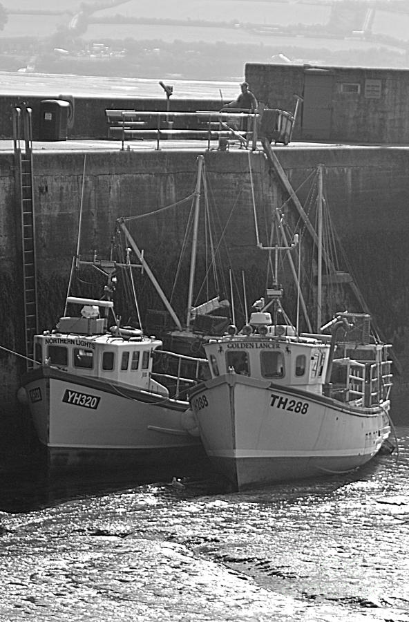 Fishing Boats Photograph - Fishing Boats by Andy Thompson