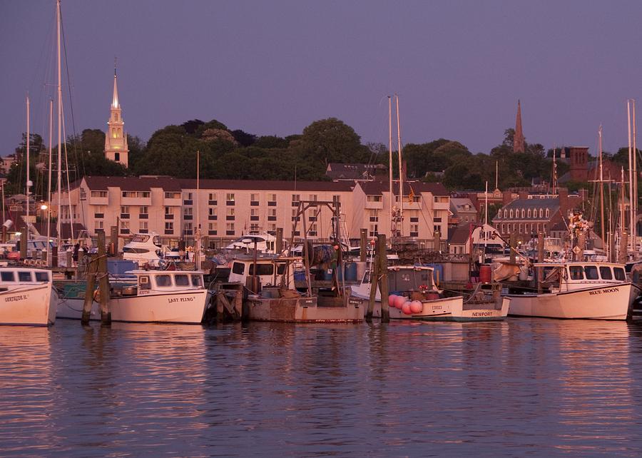 Rhode Island Photograph - Fishing Boats by Steven Natanson