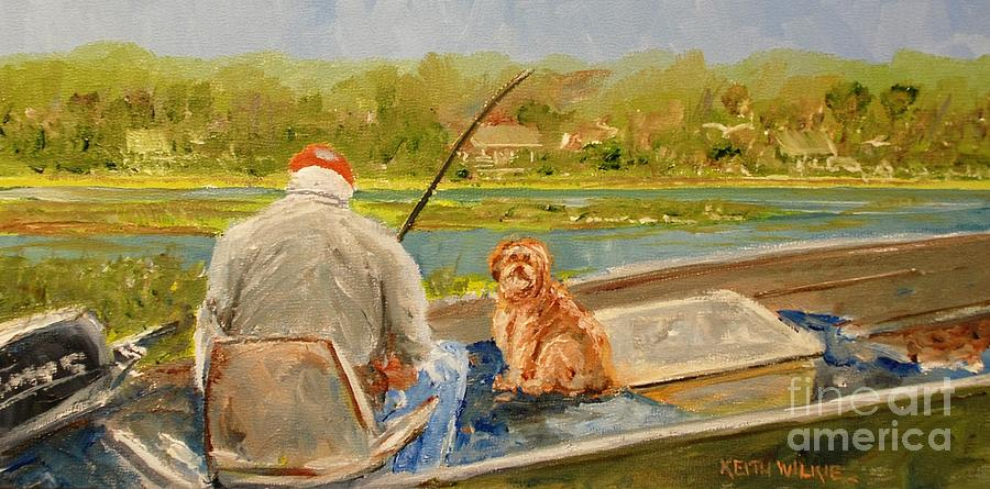 Fishing Buddy by Keith Wilkie
