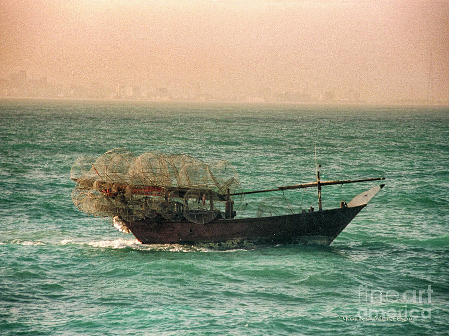 Fishing Dhow by Charles McKelroy