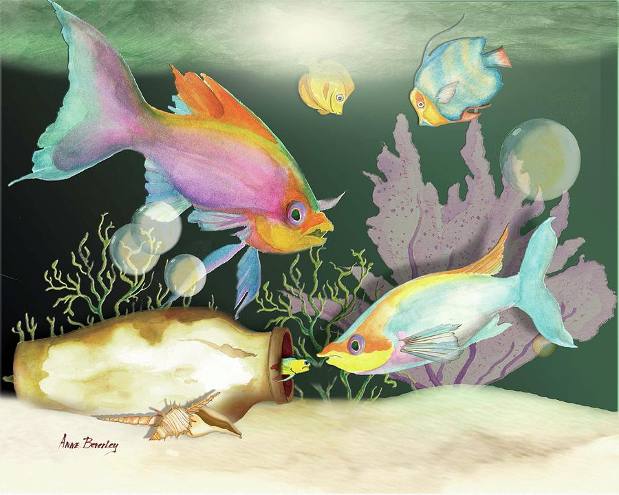 Fishing Expedition by Anne Beverley-Stamps