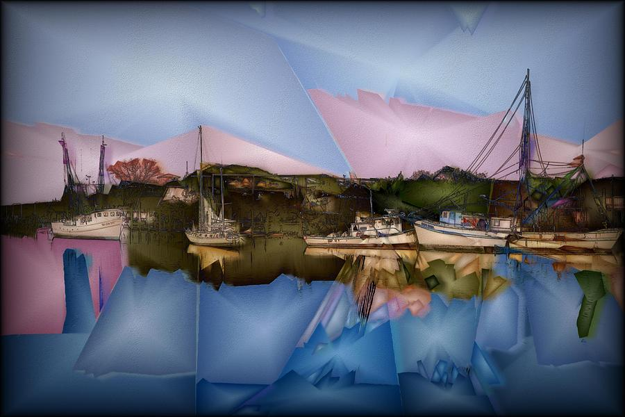 Artwork Digital Art - Fishing In Carolina by Jon Glaser