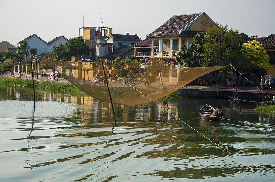 Fishing Net in Vietnam by Rob Hemphill