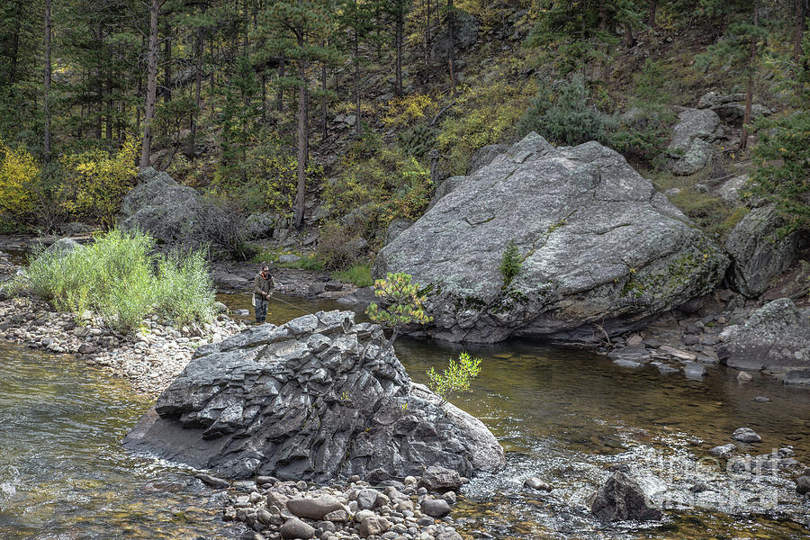 Fishing On The Poudre Photograph