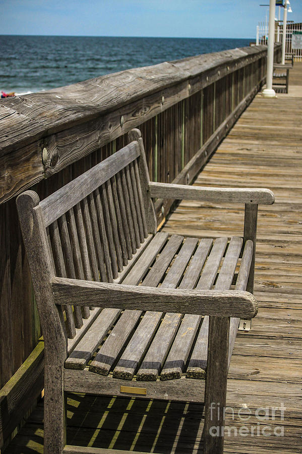 Fishing Pier Bench by Patrick Dablow