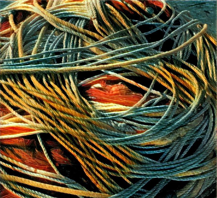 Fishing  Rope  by Colette V Hera Guggenheim