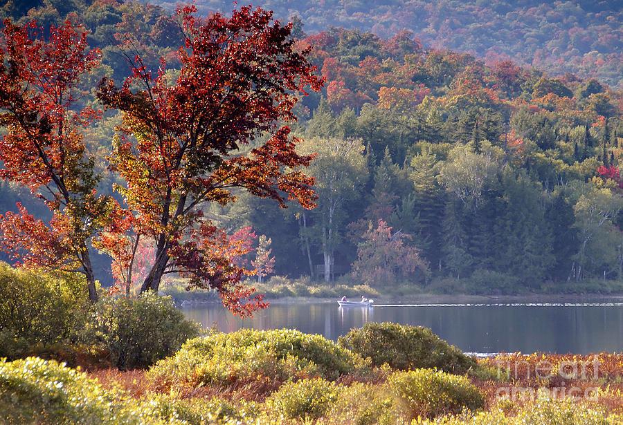 Adirondack Mountains Photograph - Fishing The Adirondacks by David Lee Thompson