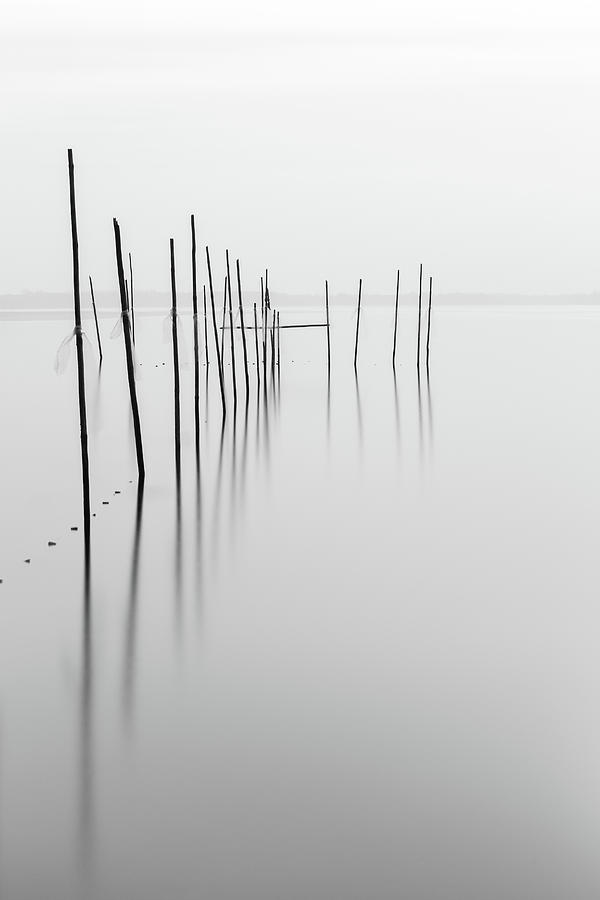 Minimalism Photograph - Fishing Trap by Holger Nimtz