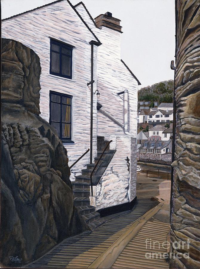 European Painting - Fishing Village by Jiji Lee