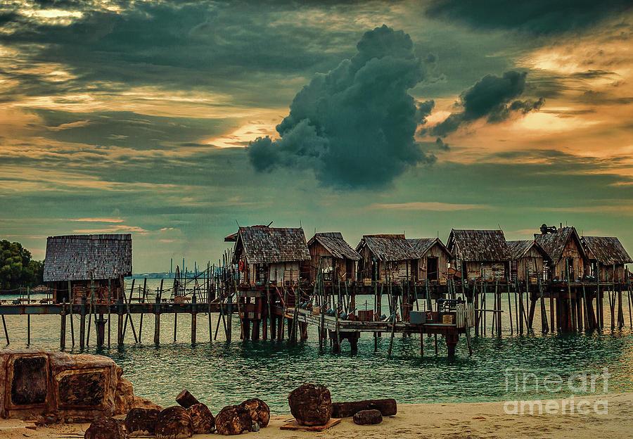 Fishing VIllage by Ray Shiu