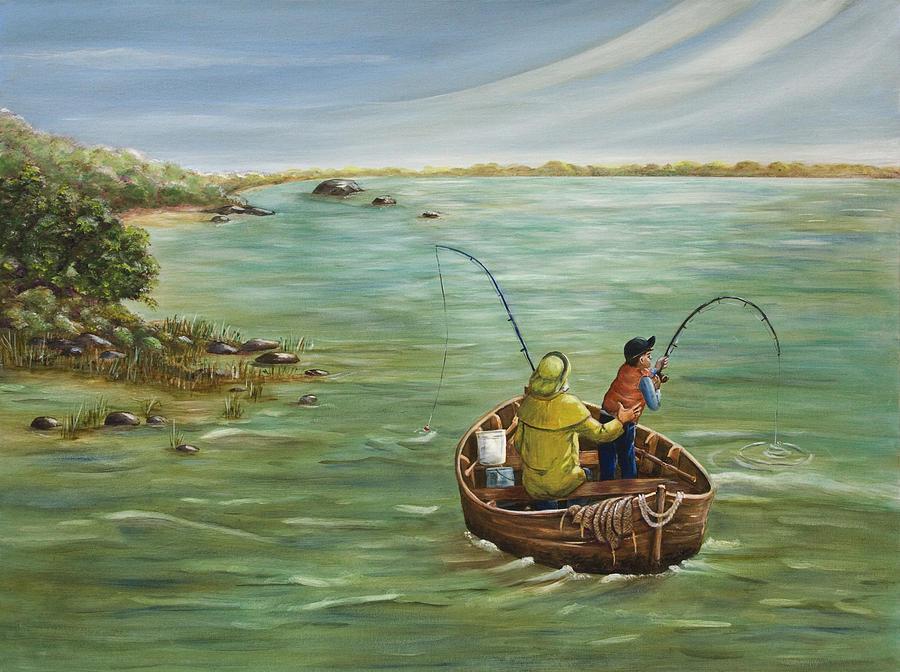 Omaž ribolovcu i ribolovu - Page 12 Fishing-with-grandpa-dorothy-riley