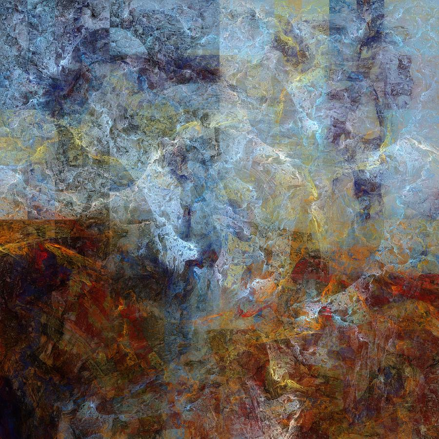 Abstract Digital Art - Fissure by Ian Duncan Anderson