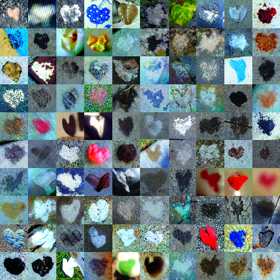 Abstract Hearts Photograph - Five Hundred Series by Boy Sees Hearts