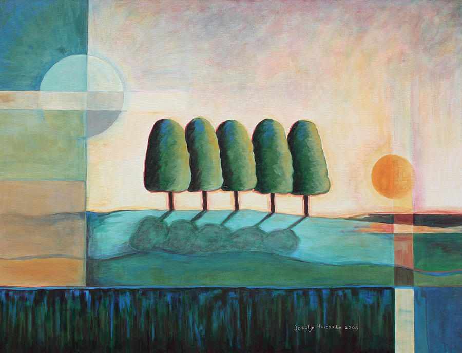 Five Trees by Joselyn Holcombe