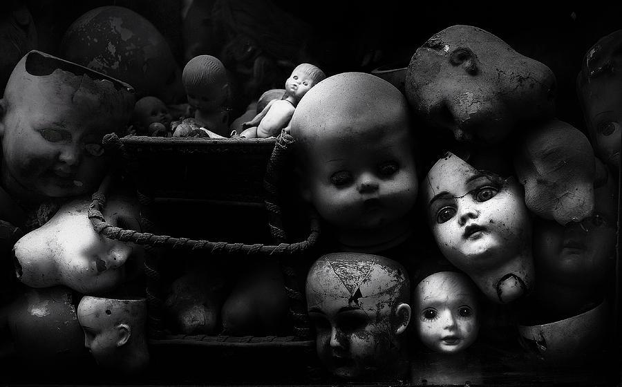 Dolls Photograph - Fixed Gaze by Fulvio Pellegrini