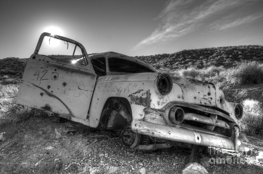 Old Cars Photograph - Fixer Upper by Bob Christopher