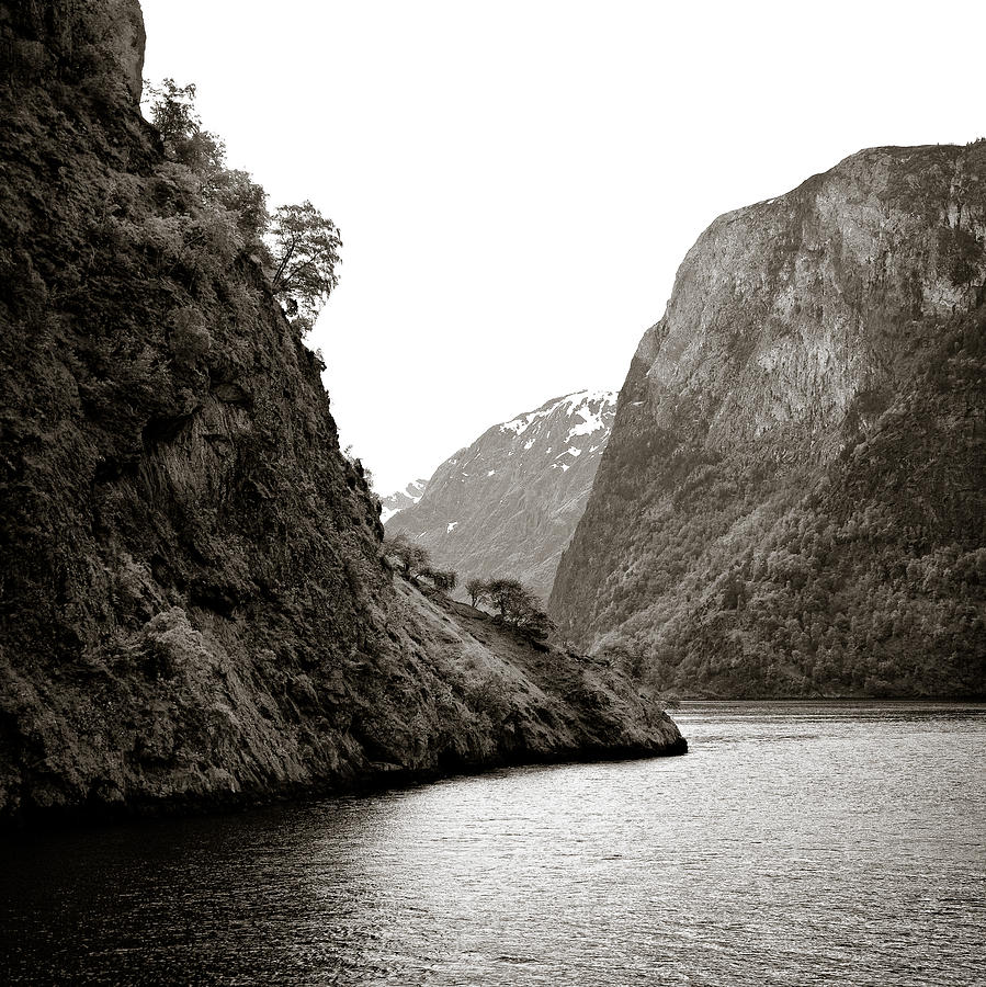 Norway Photograph - Fjord Beauty by Dave Bowman