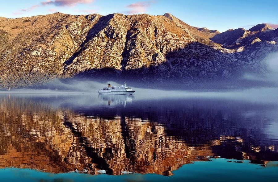 Fjord Digital Art - Fjord by Dorothy Binder