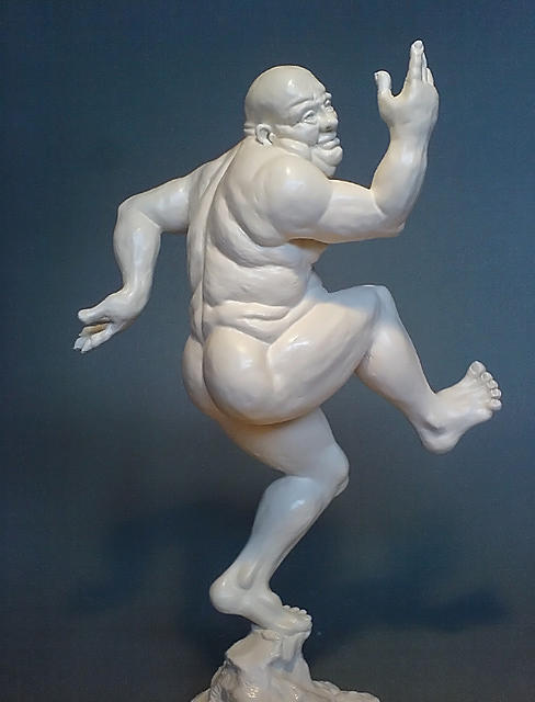 Sculpture Sculpture - Flabby Daddy by Paul Egan