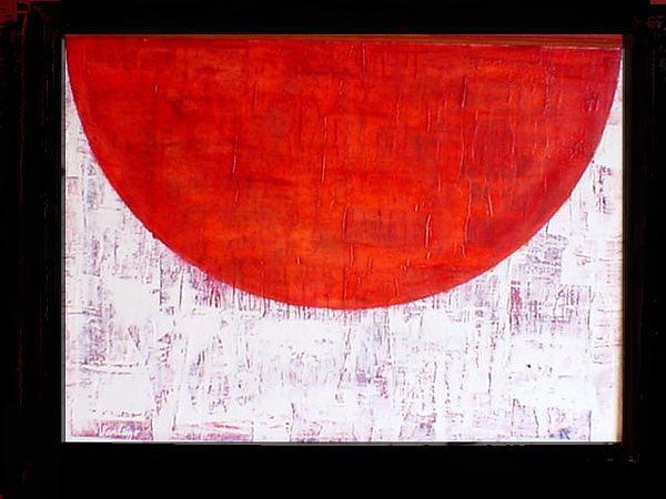 Flag Painting by Adalardo Nunciato  Santiago