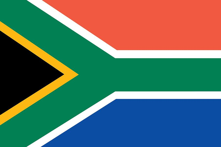 Flag Of South Africa Painting By Unknown
