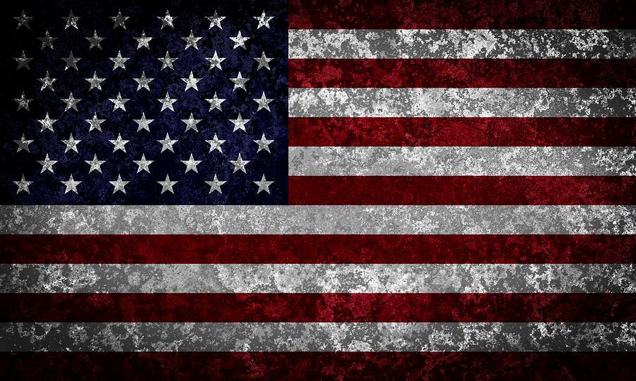 Flag Of The United States Digital Art