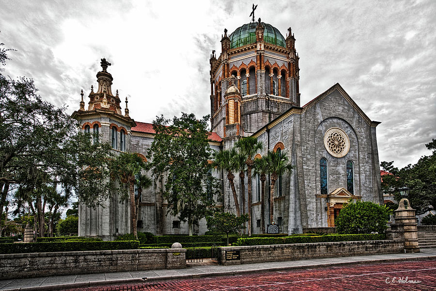 Church Photograph - Flagler Memorial Presbyterian Church 2 by Christopher Holmes