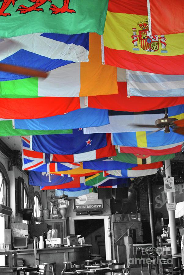 Flags of Sloppy Joes by Jost Houk