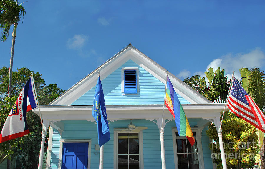 Flags of the Keys by Jost Houk
