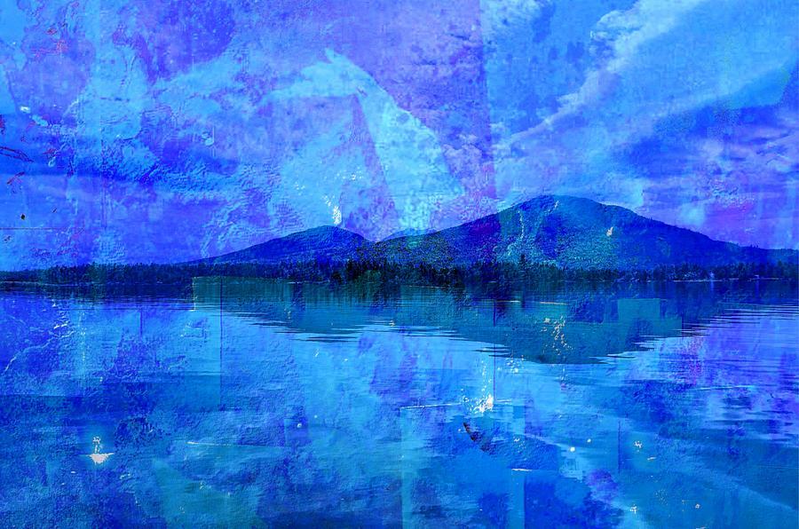Flagstaff Lake Blu by Russ Considine