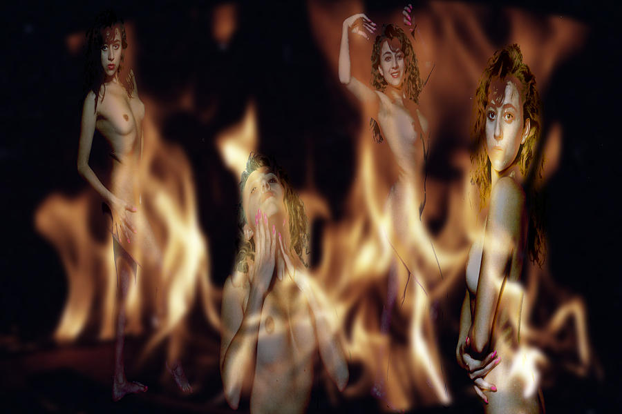 Habenero Photograph - Flame Nymphs by Richard Henne