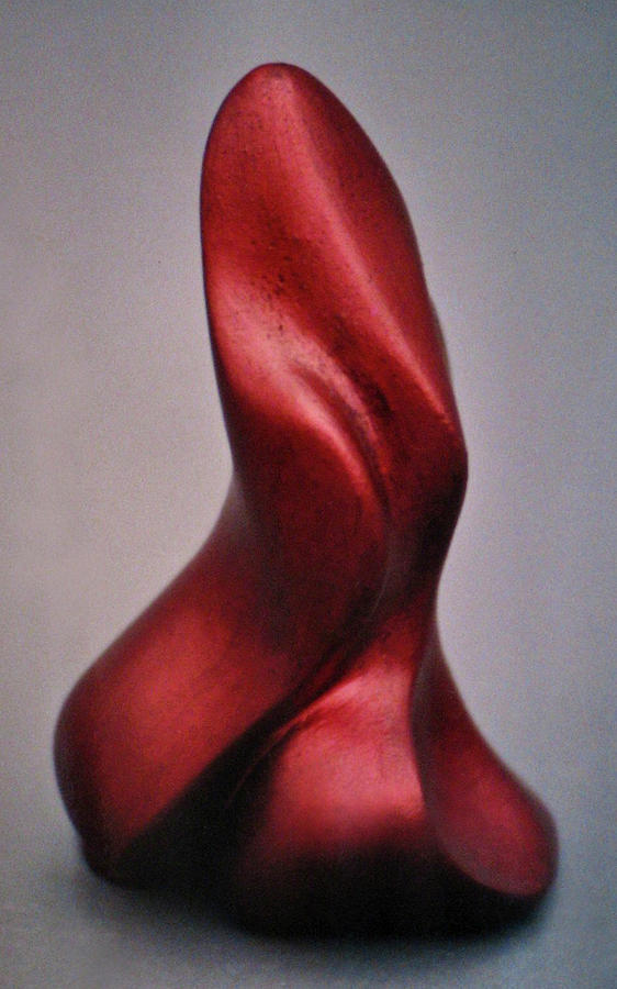 Sculpture Sculpture - Flame On by Lonnie Tapia