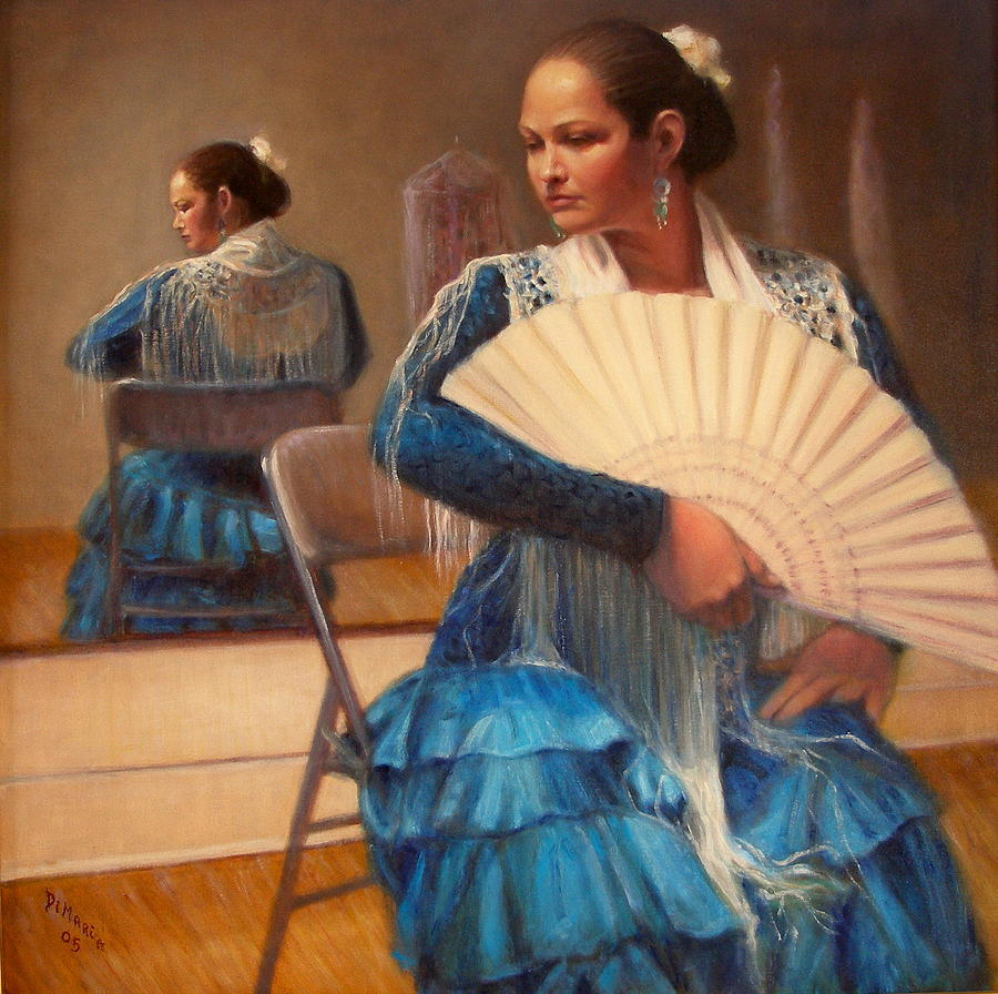 Realism Painting - Flamenco 1 by Donelli  DiMaria