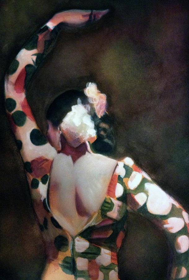 Flamenco Dancer II Painting