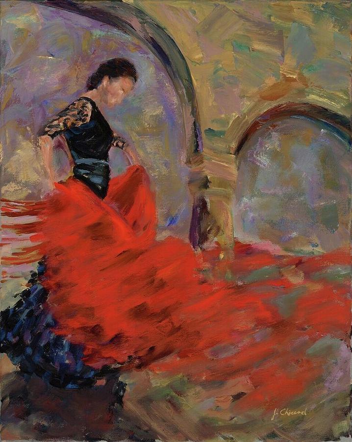 Flamenco Dancer by Joe Chicurel
