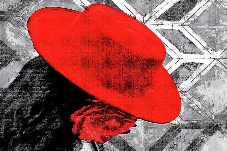 Flamenco Digital Art - Flamenco Girl by Nannie Van der Wal
