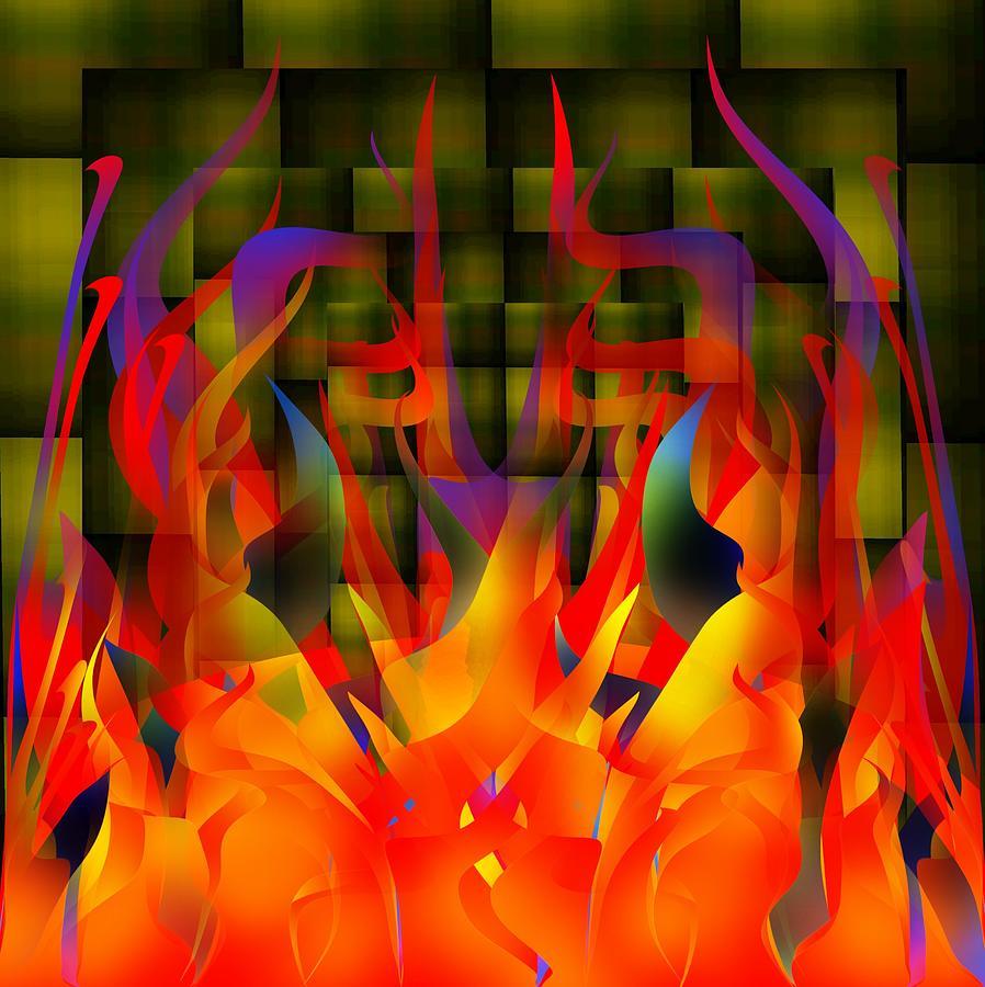 Flames Digital Art