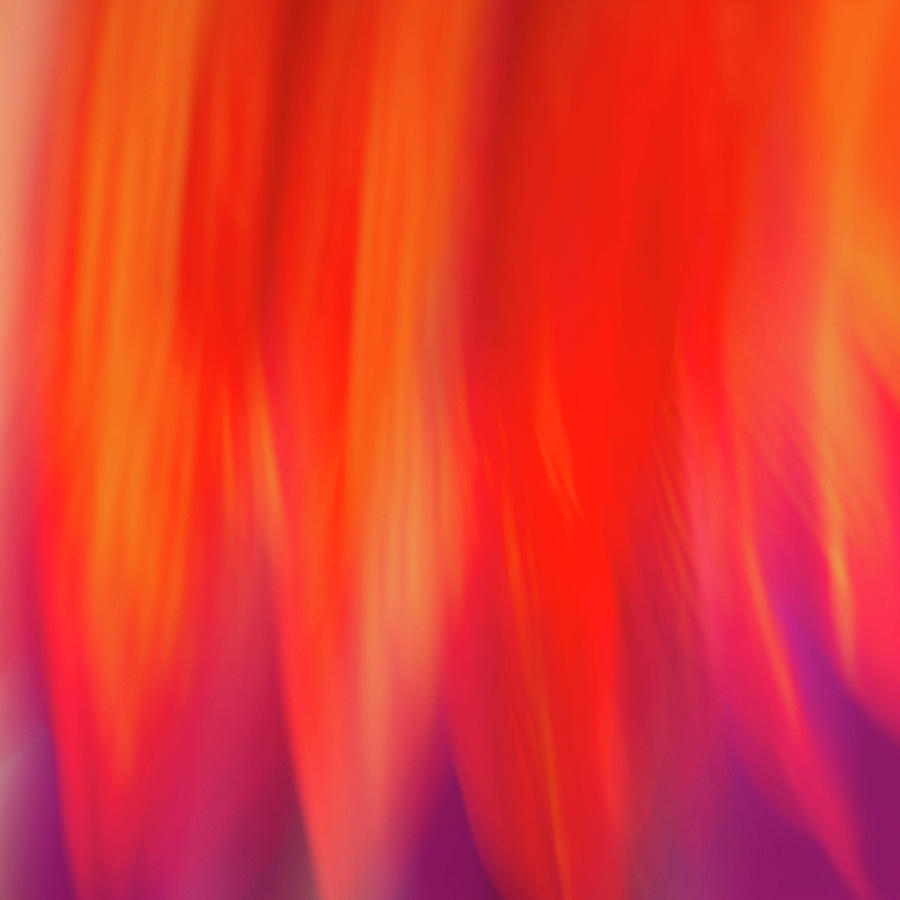 Abstract Photograph - Flames by Cheryl Day